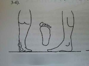 Second degree straight feet