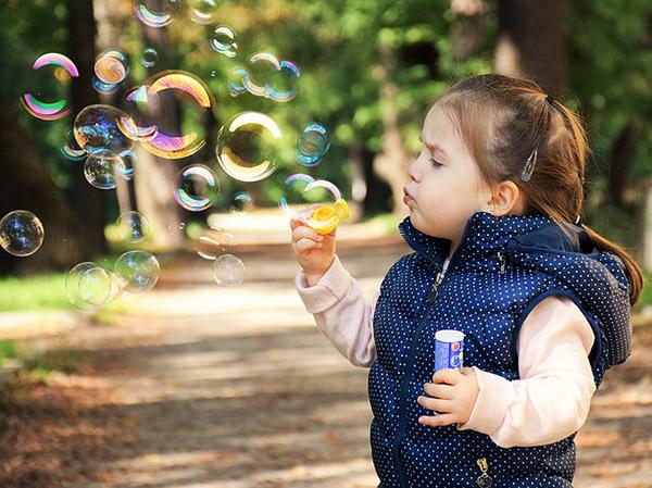A girl in the park, Photo credit ddimitrova