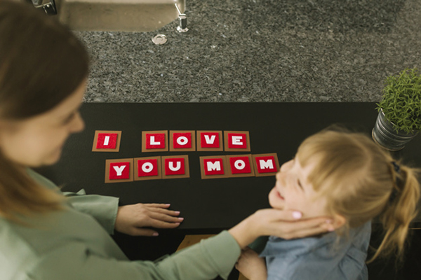 A letter game, phonics activities