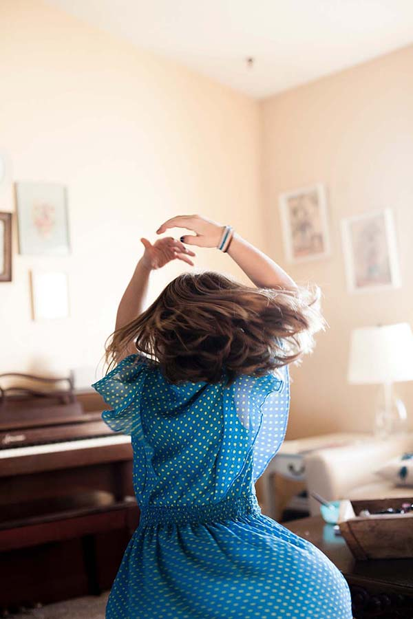 Girl is dancing, photo credit Laura Fuhrman-unsplash
