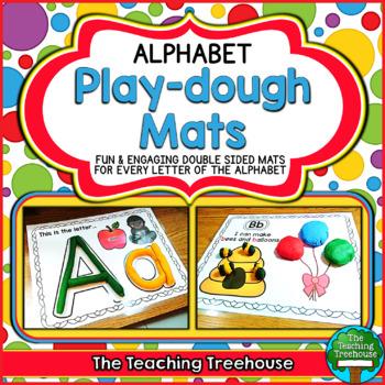 Teachers Pay Teachers - Alphabet Play Dough Mats