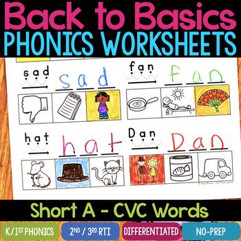 Teachers Pay Teachers - Back to Basic Phonics Worksheets