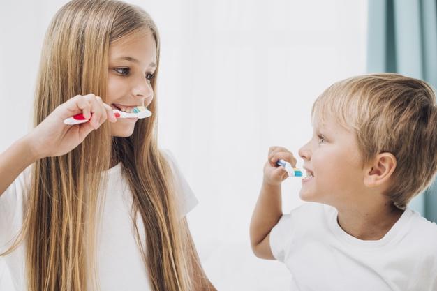 I brush my teeth, Freepik