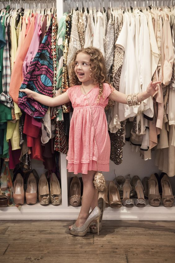 I'm a big girl!, photo credit Mini Magazine