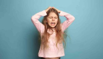 Children's angry behavior