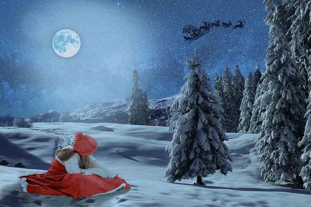 Waiting for Santa Claus